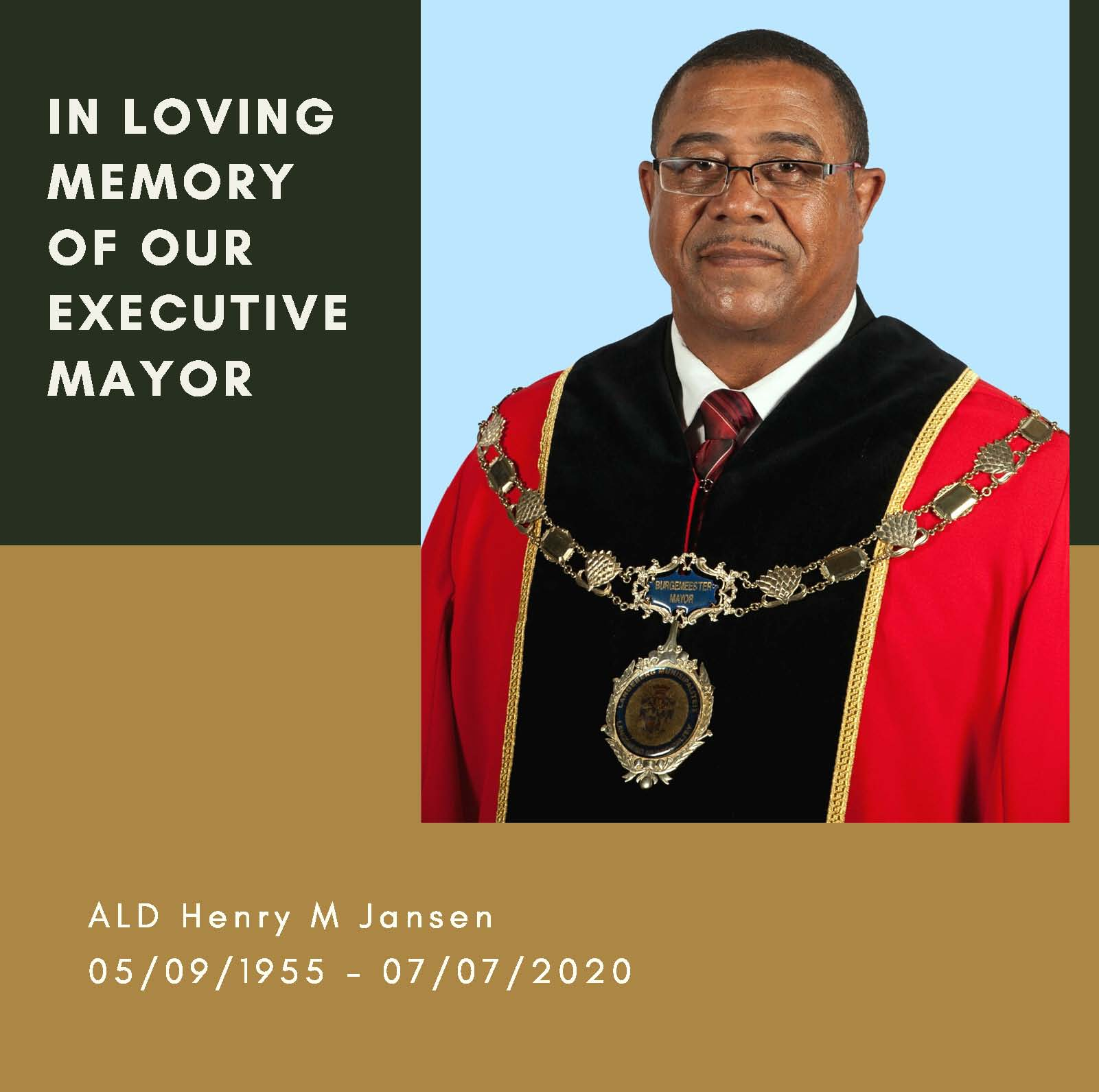 In Loving Memory of Exe Mayor Page 1
