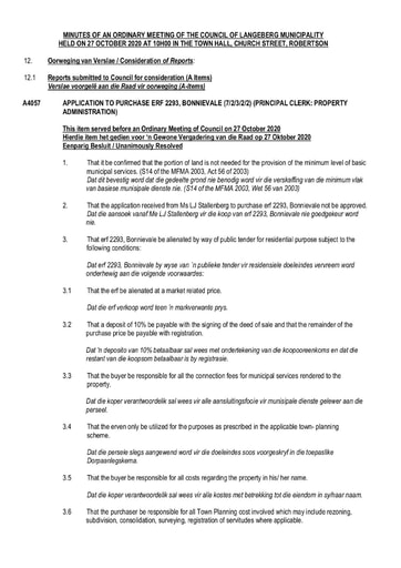2020 - Web Page 10 - Council Resolutions of 27 Oct 2020