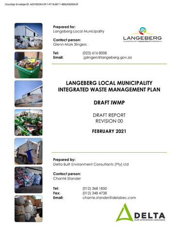 DRAFT INTEGRATED WASTE MANAGEMENT PLAN